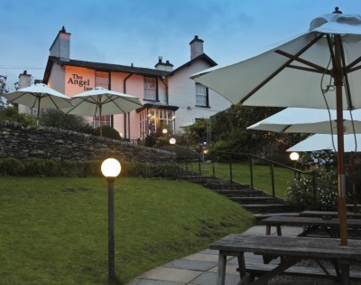 The Angel Inn Bowness The Lake District The One Stop
