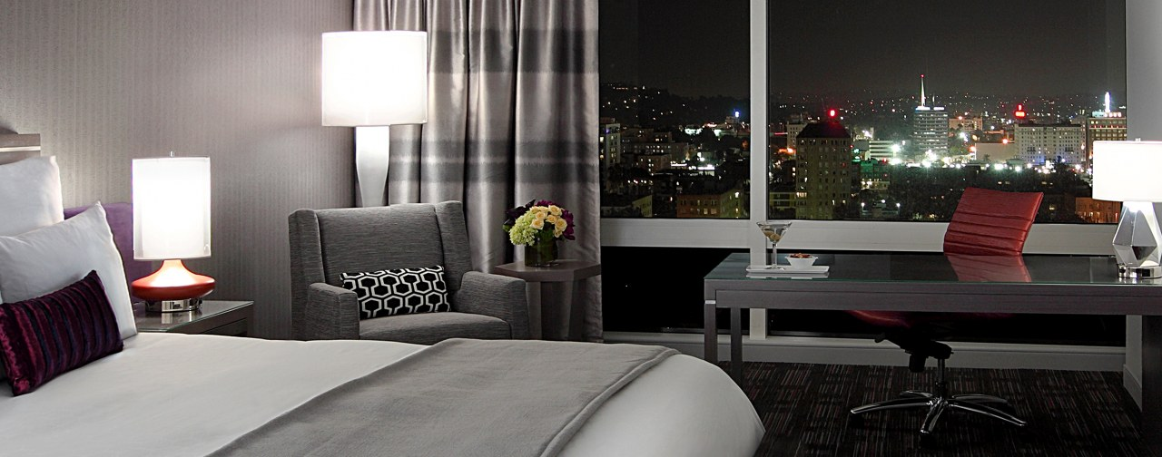 Loews Hotel, Hollywood, Los Angeles, California